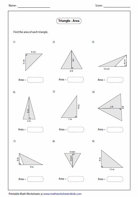 Finding Area Great Resource Site For Math Worksheets Geometry