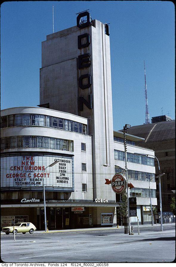 Odeon Theatre, Toronto, ON, Canada