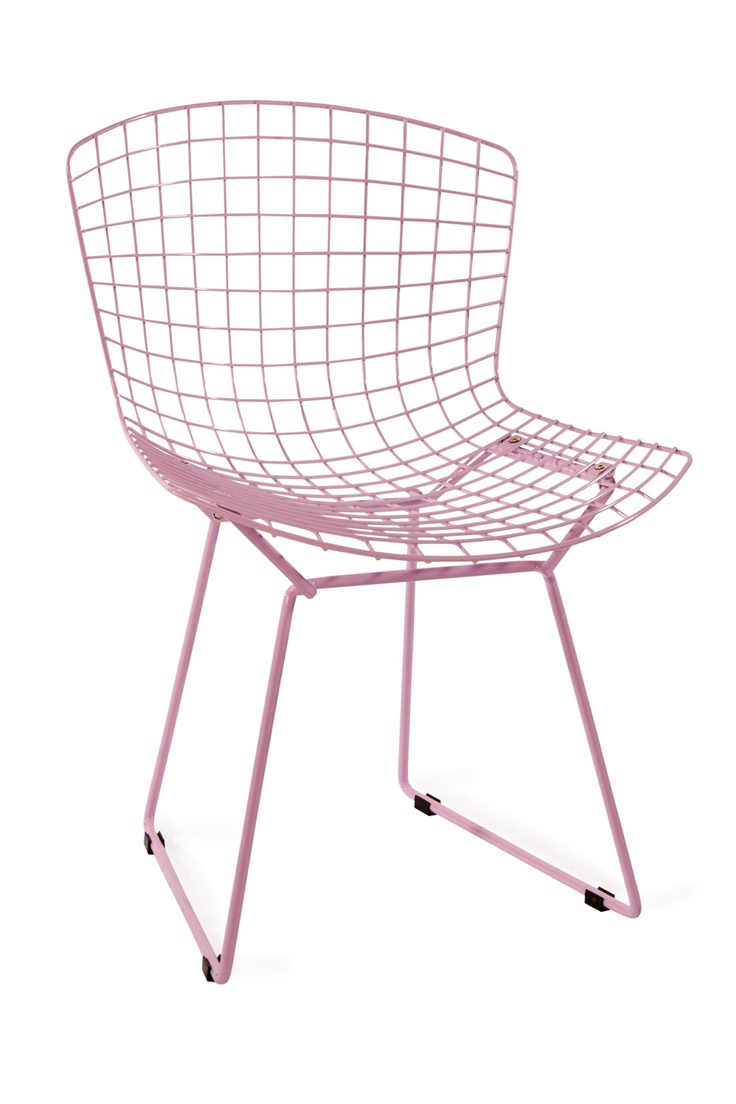 Outdoor cafe chairs - Harry Wire Chair Lilac Metal Chair 99