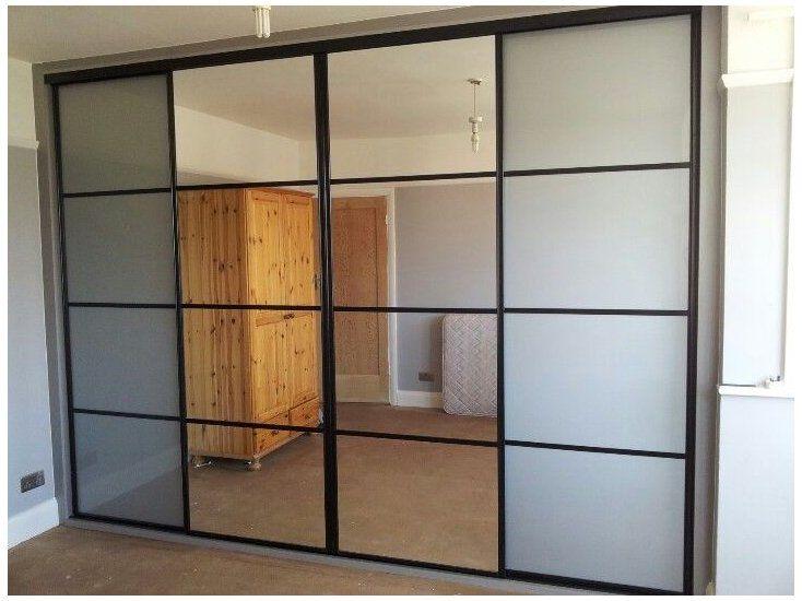 Sliding Wardrobe Doors Ikea Door, Ikea Pax Double Wardrobe With Mirror Doors