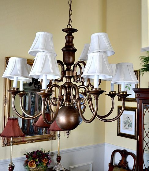17 Best Images About Chandelier Refurb On Pinterest
