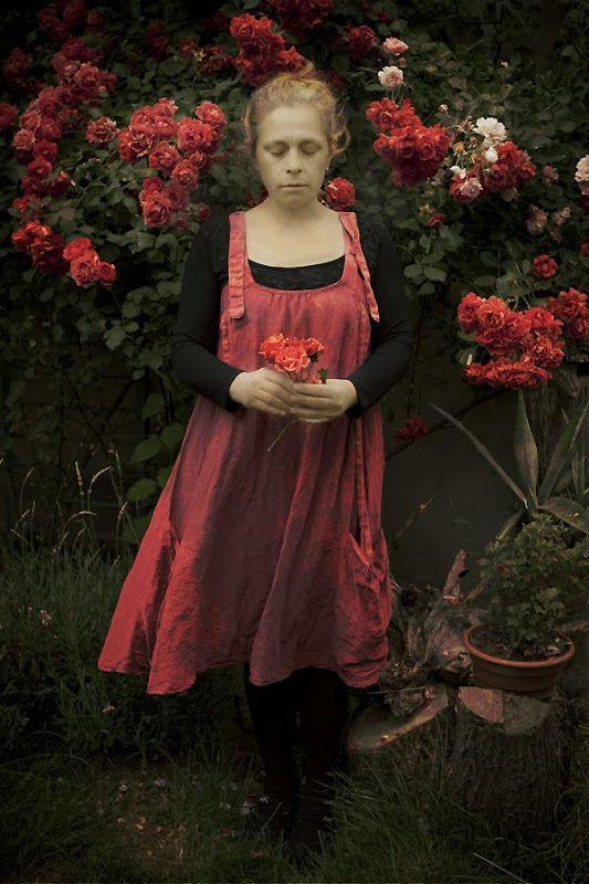 fotografia - portret niezwykły: zapach róż