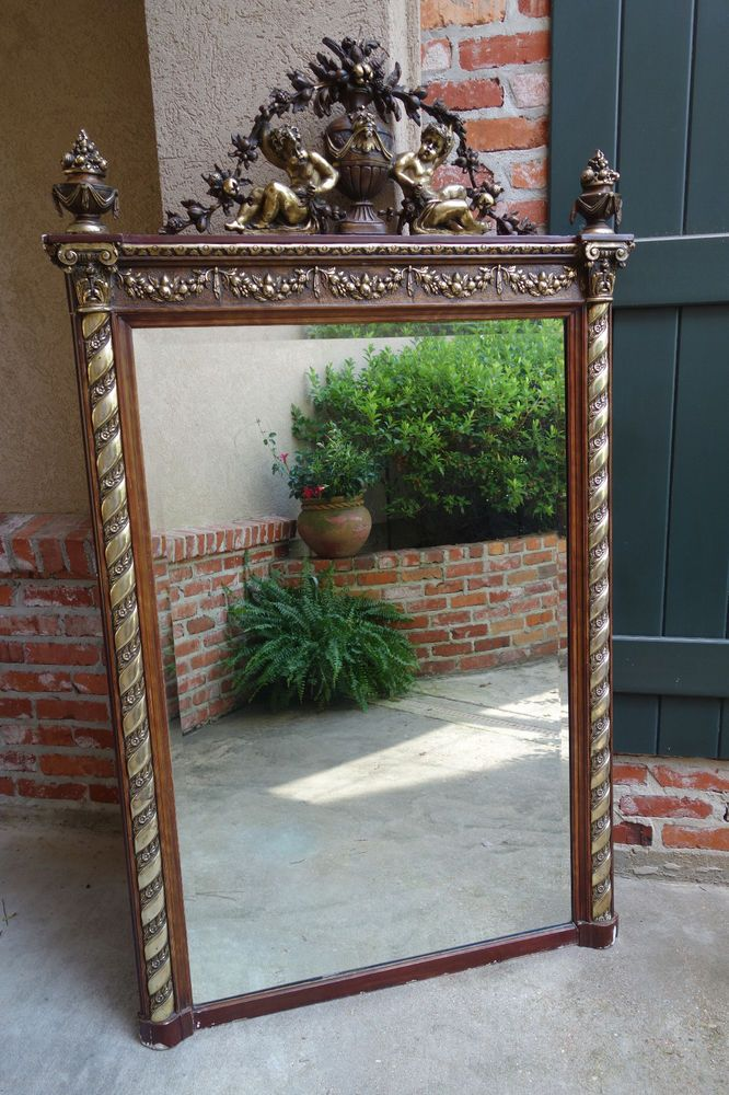 17 Best Images About Antique European Mirrors On Pinterest