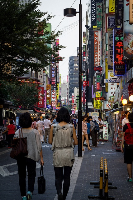Busy streets of Seoul Korea. Such an amazing experience, I am glad I had the opportunity to go! Talk about culture shock