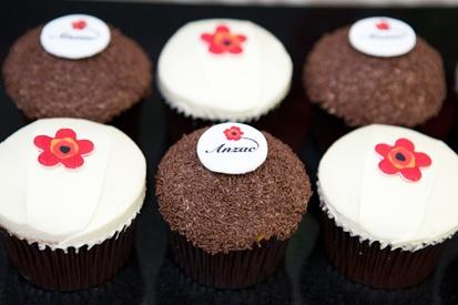 Anzac day cupcakes by #ghermez #tasty