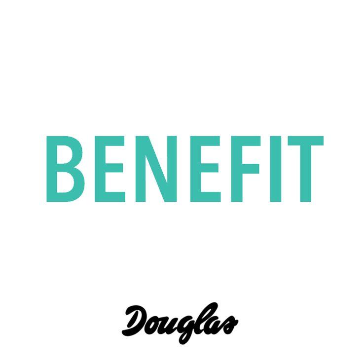 Benefit ♥ Douglas