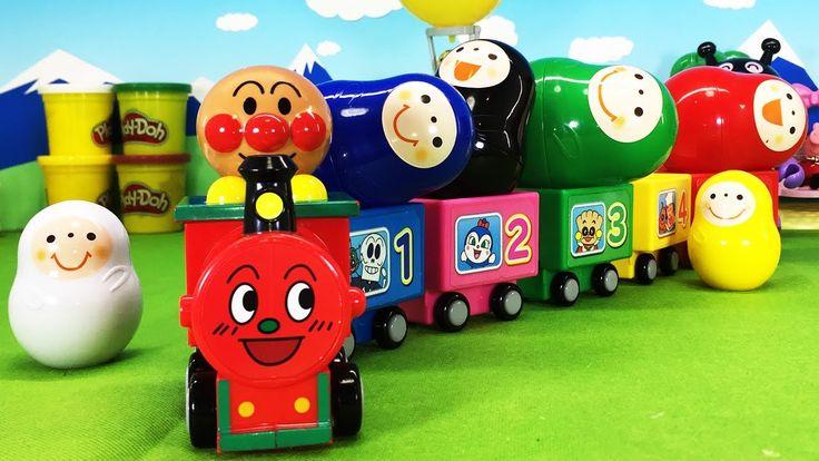 アンパンマン アニメ おもちゃ SLマンと同じ色のいろっち 色遊び おままごと人形劇 ごっこ遊び