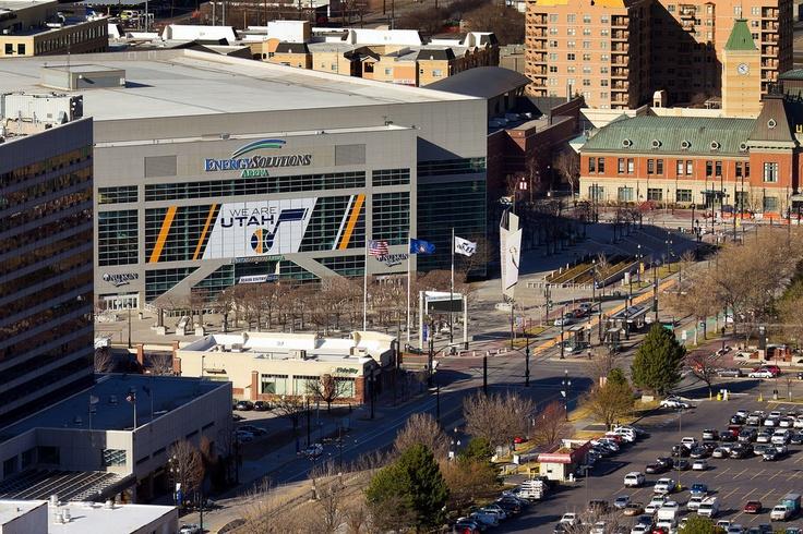 Energy Solutions Arena, Downtown Salt Lake City, Utah Jazz