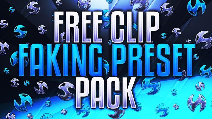 Free Clip Faking Preset Pack https://youtu.be/QFd3k0h7pG4