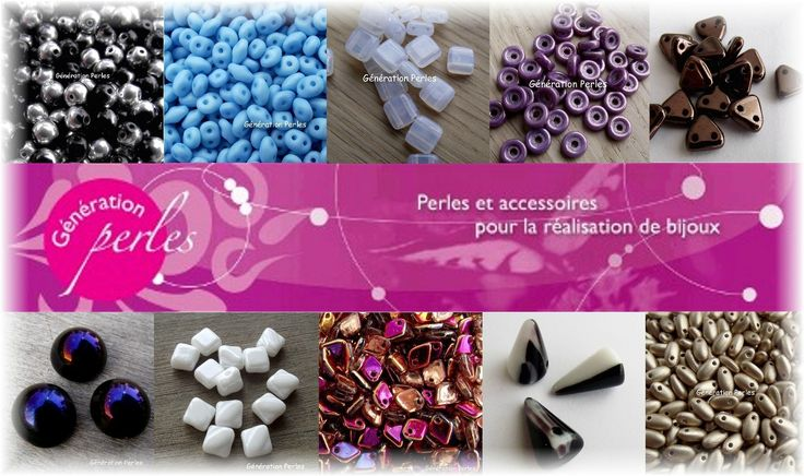 Liquidation sur une grande partie des perles Tchèques : BiBo, O bead, triangle, square, pinch, rizo, button, dome, superduo, miniduo, wheel, rounduo, dragon, pip, pyramid, petal......  *****  -40% de réduction ! ***** A retrouver ici : https://www.generationperles.fr/v4/promotions.php