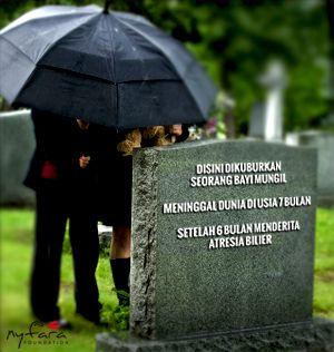 lebih dari 90% penderita Atresia Bilier di Indonesia meninggal dunia