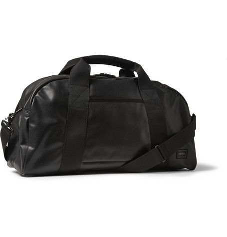 Porter-Yoshida & Co - Aloof Canvas and Leather Boston Bag|MR PORTER