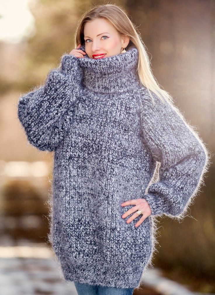 292 best BIG THICK BULKY Turtleneck sweaters images on Pinterest ...