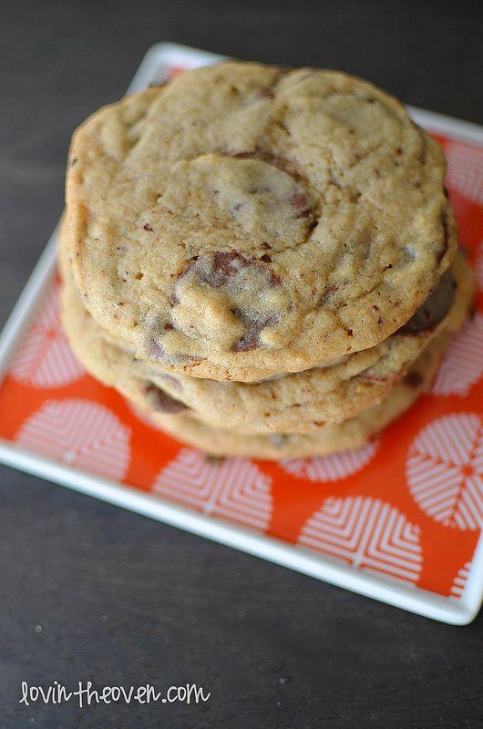 Coffee Dark Chocolate Chunk Cookies   Recipe