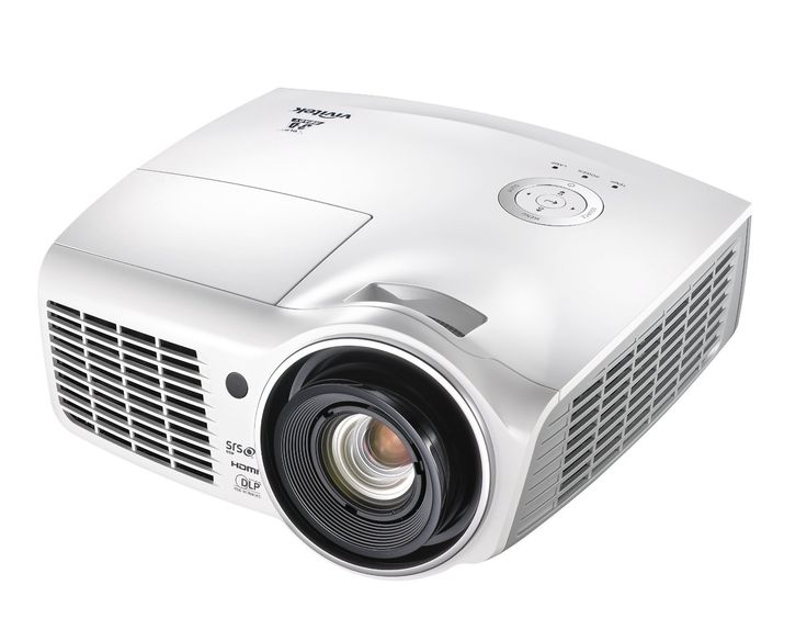 Vivitek H1180HD 1080p DLP 3D Blu-Ray Home Theater Projector. Bright at 2000 lumens for dazzling images. DLP DarkChip3 and BrilliantColor technologies by Texas Instruments. Built in 10 watt mono speaker. SRS WOW improves playback quality of audio, delivering a dynamic 3D entertainment experience with deep, rich bass. Top sided lamp cover for convenient lamp replacement.