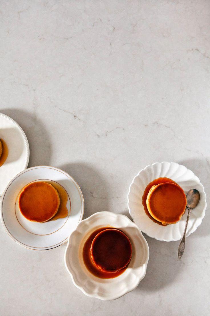 Salted Caramel Pumpkin Flan + A Giveaway!   hummingbird high    a desserts and baking blog