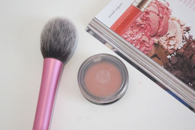 Australian Makeup and Skin care: Natio Blush Peach Glow Review
