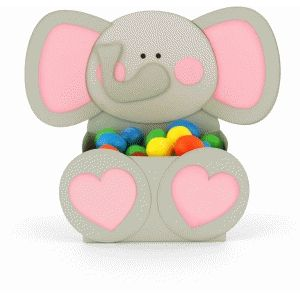 Silhouette Design Store - View Design #84444: elephant belly box