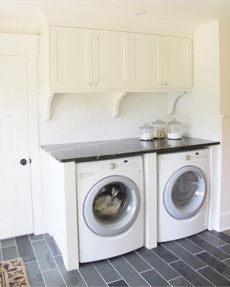 simple laundry room.