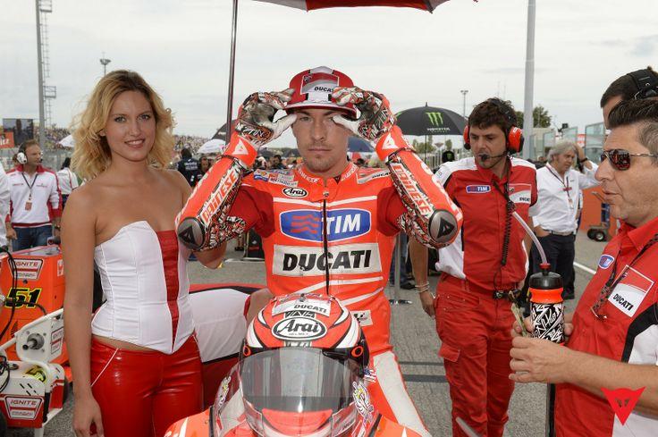 Nicky Hayden in Action - 2013 MotoGP season