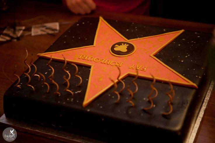 """""""Walk of Fame""""  cake  photo@karabagias"""