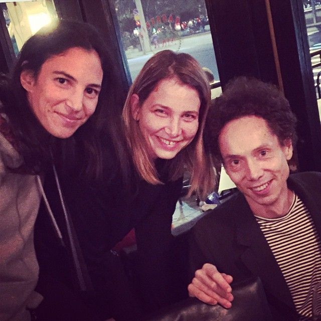 Out with The BLINK Master Malcolm Gladwell @shanipridan #blink#malcolmgladwell#tlv
