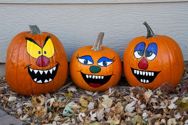 17 Images About Painted Pumpkins On Pinterest Smiley