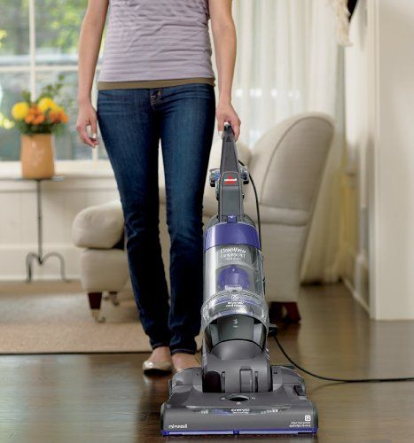 the bissell vac captures deep down pet hair 12amp motor