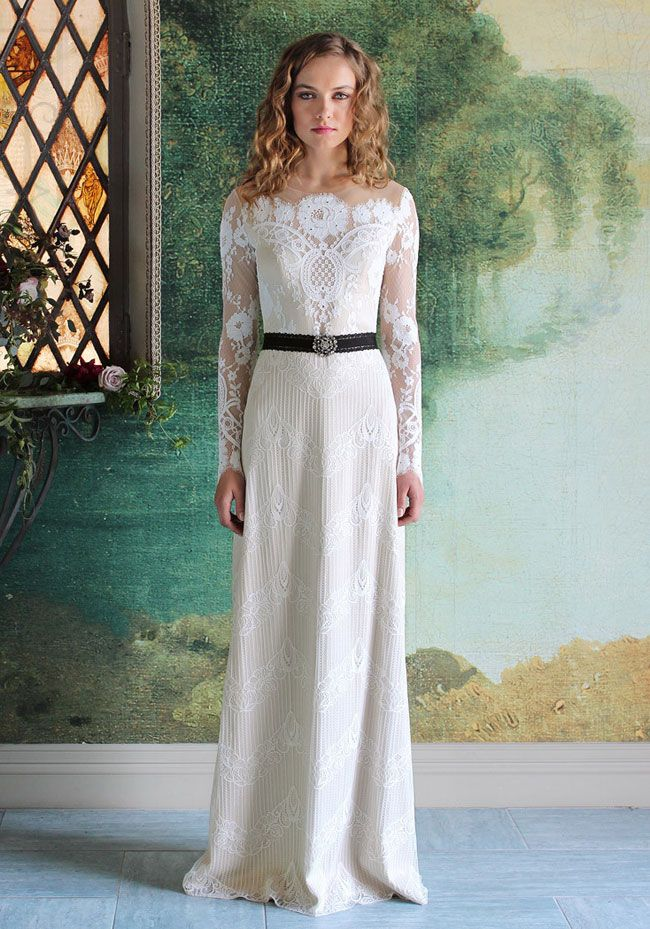 Wedding Look 2017 Pizzo Claire Pettibone