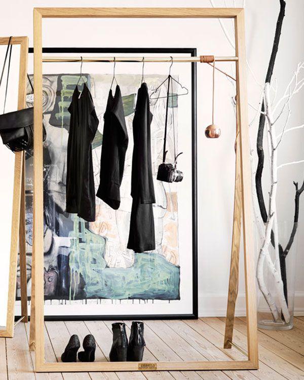 Der Kleiderständer Aus Holz FRAMED RACK Hat Anderen Garderoben Einiges  Voraus: Es Ist Die Perfekte