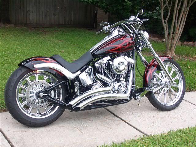 Show me ur custom paint jobs... - Harley Davidson Forums