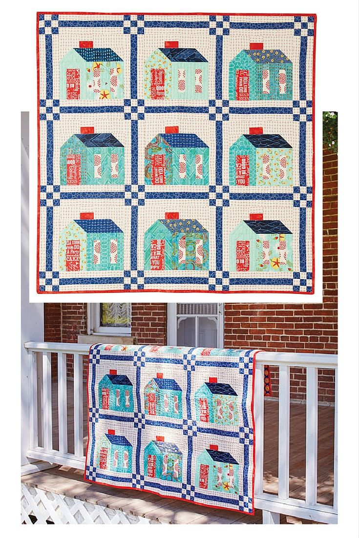 Coming Home quilt pattern by Pat Sloan