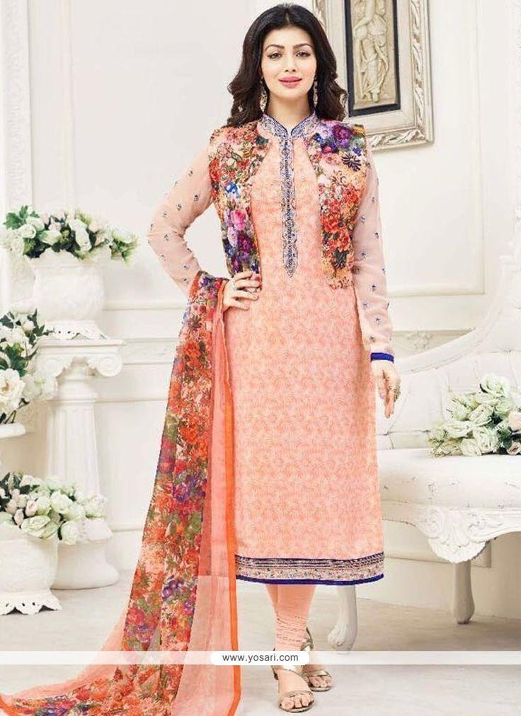 Ayesha Takia Art Silk Jacket Style Suit Model: YOS9499