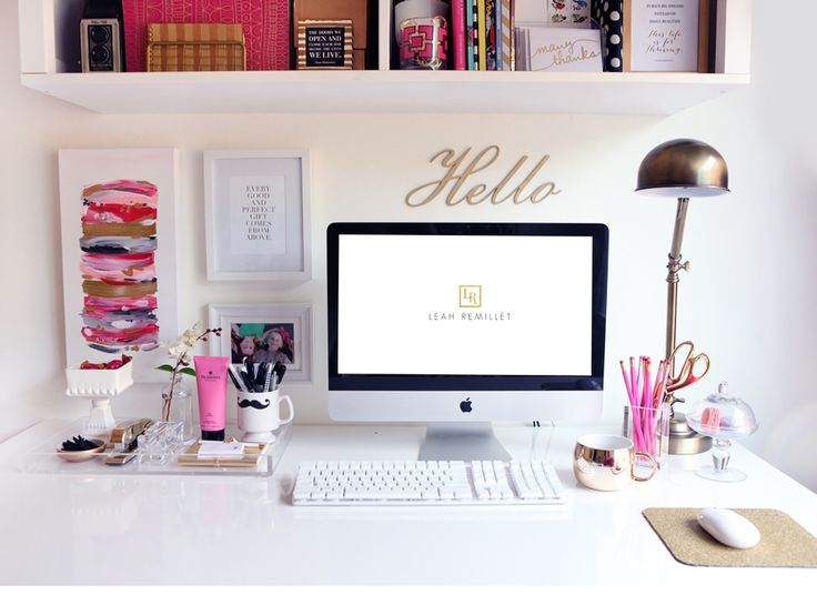 I really want to create a workspace like this! Obsessed.