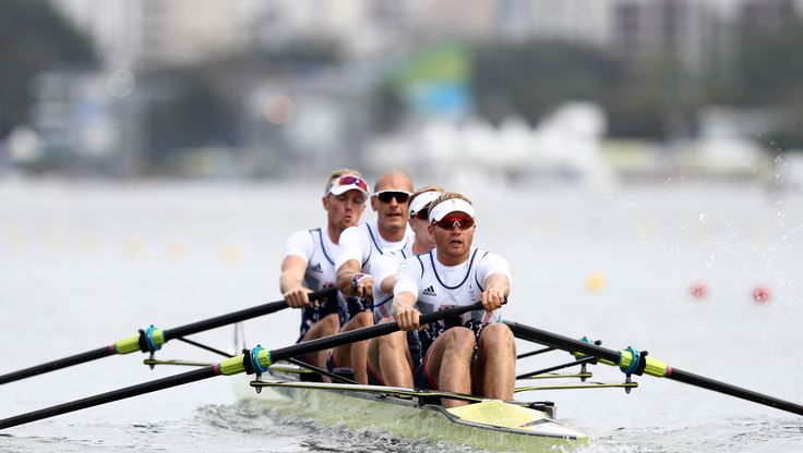 British rowers enjoyed a day of glory at the Olympic rowing regatta, with the…