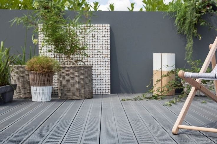 134 best Terrasse images on Pinterest Bricolage, Decks and Botany - ciment colore pour terrasse