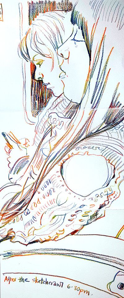 On the train. Lynne Chapman. Magic pencil