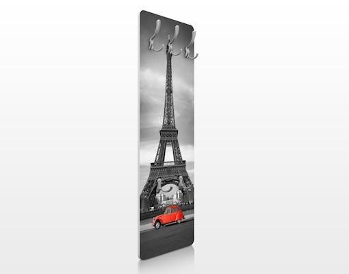 Vešiak na stenu Paris