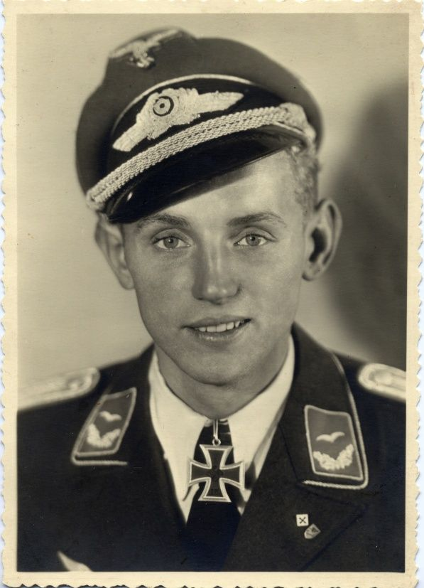 Erich Hartmann, the highest scoring fighter ace in history, with 352 aerial victories in 1,404 combat missions, he was never shot down or forced to land due to fire from enemy aircraft.