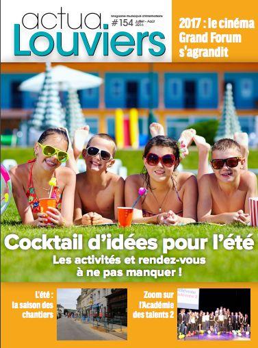 Tout beau, tout chaud, votre Actua #Louviers de l'été est sorti de presse et il vous le faut !