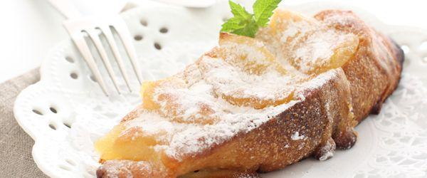 Paine prajita cu mere caramelizate | Alimentatie copii | Retete culin