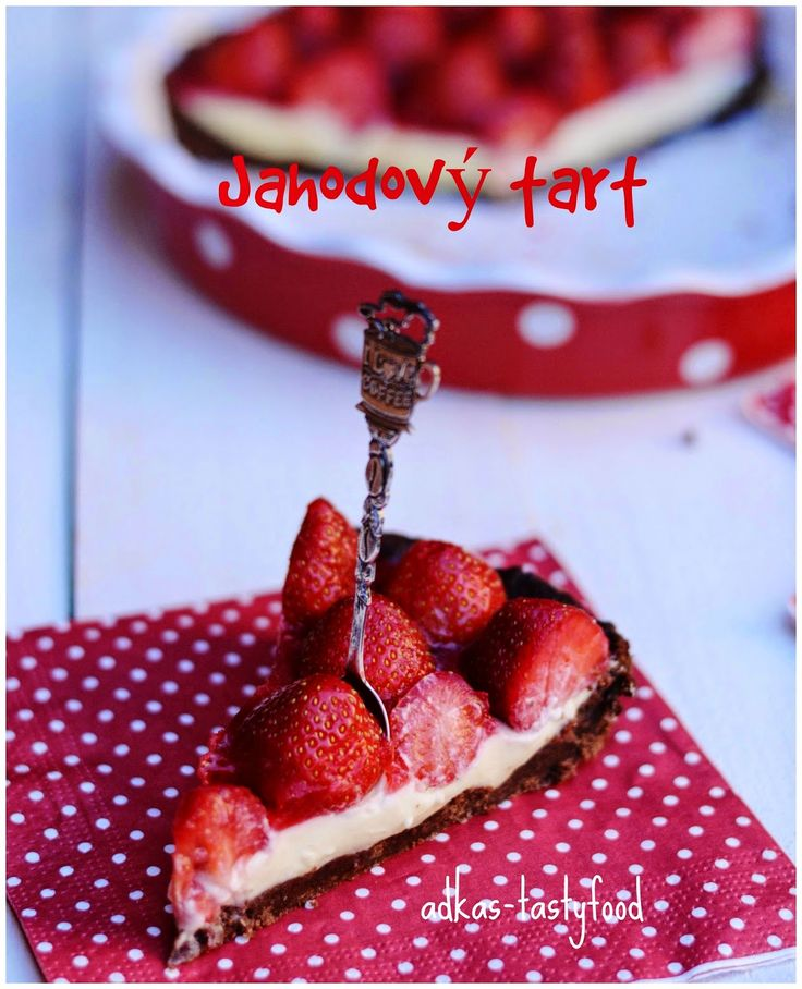 .. chute a vône mojej kuchyne...: Jahodový tart s bielou čokoládou a jahodovou glazúrou