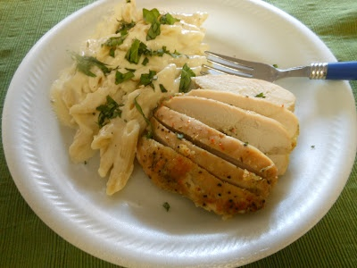 Grilled chicken, Lemon basil and Basil pasta on Pinterest