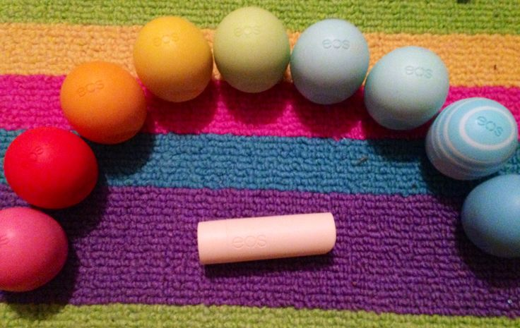 EOS collection Gotta have all of the EOS  Baby lips  EOS