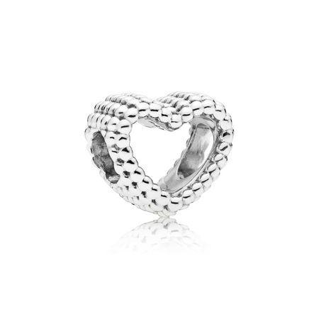 84e2c178d Beaded Heart Charm PANDORA Jewelry US   @giftryapp   Christmas ...