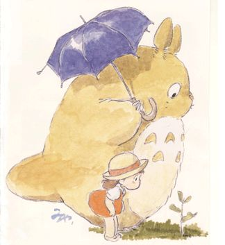 """""""My Neighbor Totoro となりのトトロ""""  by 宮崎 駿 Hayao Miyazaki* 