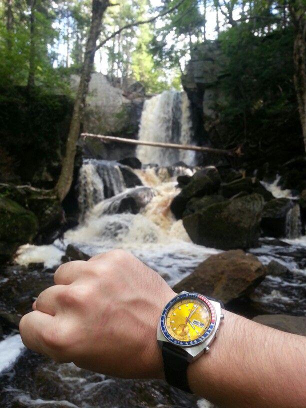 Lower Joslin falls, outside Fredericton, NB