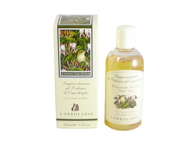 Caprifoglio (Honeysuckle) Perfumed Bath Foam by L'Erbolario Lodi