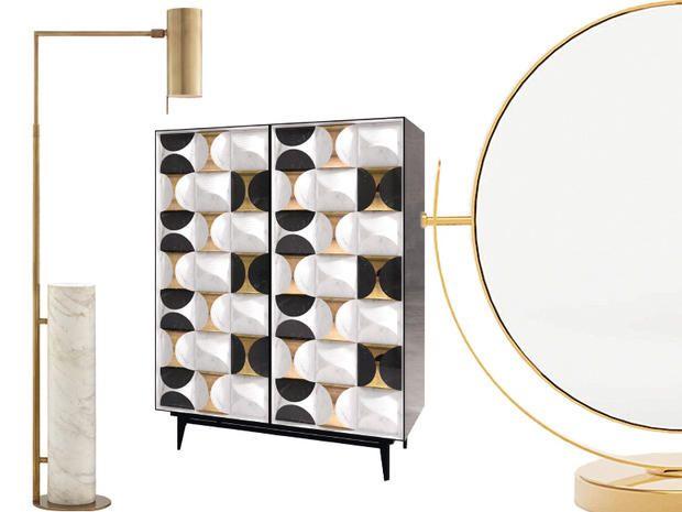 I mobili ispirati agli anni Venti: arredi avvolti da un'aura aristocratica e illuminati da accenti metallici