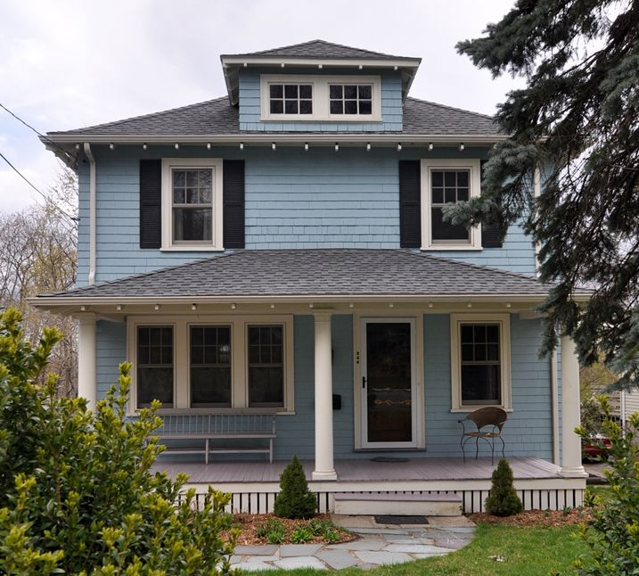 93 Best American Foursquare Homes Images On Pinterest